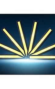 10st hry® 14cm 600-700lm dagrijverlichting witte kleur licht cob DRL waterdichte daglicht (12v)