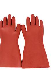gummi isolerende handsker rød taxue