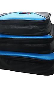 vandtætte 3pcs / sæt bærbare rejse arrangør taske til elektronisk tilbehør