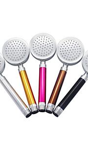 caloufu aluminium pommeau de douche de l'espace de poche rond buse de douche amovible chauffage klf-SH03 (couleur aléatoire)