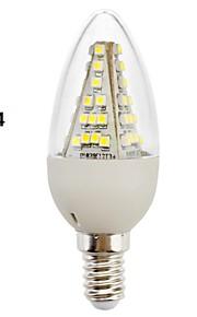 Eastpower E14/E26/E27 3 W 48 SMD 5050 230 LM Varm hvit/Kjølig hvit C Dekorativ Lysestakepære AC 220-240 V