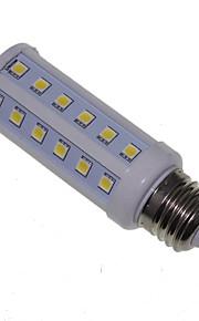 e27 / e26 / e14 9w 48x5050smd 900lmwarm blanc lumière blanche / froid led ampoule de maïs AC85-265V