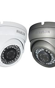 Vandtæt/Dag Nat/Motion Detection/PoE/Dobbeltstrømspumpe/Fjernadgang/IR-klip/Plug and play - Udendørs Kuppel - IP-kamera