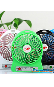 2015 nye mini usb fan, genopladeligt batteri mini fan, usb bærbare køleventilator