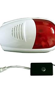 draadloze buiten sirene stroboscoop sirena alarma voor inbraak alarmsysteem