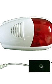 trådløs udendørs sirene strobe sirena Alarma for indbrudstyv sikkerhed alarmsystem