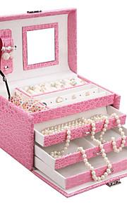 glam perles de bijoux classiques zone d'affichage bricolage cas montre organisateur armoire zg016new