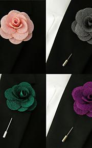Men's Business Multicolor Baby Pink Brooch