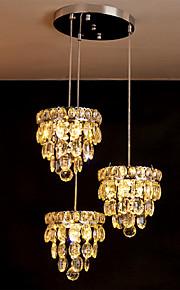 Hängande lampor - Living Room/Bedroom/Dining Room/Badrum/Studierum/Kontor - Traditionell/Klassisk - Kristall