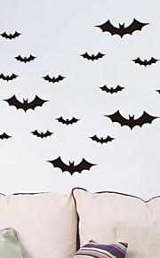 할로윈 박쥐 PVC 벽 스티커 벽 데칼