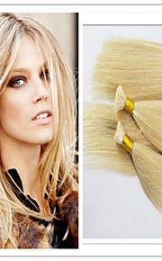 """3шт / много индийских девственной часть волос 14-32 """"часть человеческих волос оптовой плетение сыпучих наращивание волос 100г / шт # 613"""