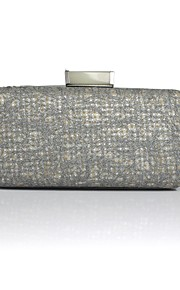 Handbag Satin/Silk/Metal Evening Handbags/Clutches With Lace/Metal