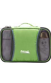 Neceser/Muñequera Bolsa/Travel Organizer ( Verde/Azul/Rosa Oscuro , 4L L)  Listo para vestir/Compacto/MultifuncionalAcampada y