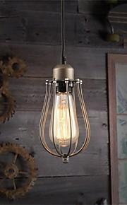 Metal - Lámparas Colgantes - LED - Tradicional/Clásico/Rústico/Campestre/Cosecha/Retro/Farol/Campestre