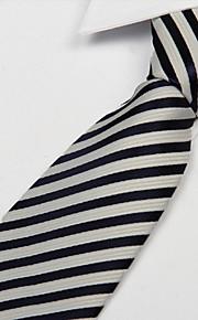 Men Arrow Type Leisure Career Jacquard striped Necktie Tie