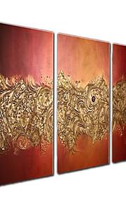 visuell star®oil måla modern abstrakt handmål duk konst redo att hänga
