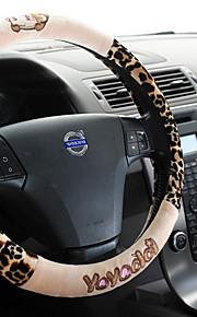 fluwelen stuurwiel sets van de sets van de auto levert witte plastic binnenring van de wielstellen