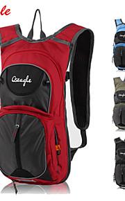 Paquetes de Mochilas de Camping/Ciclismo Mochila ( Rojo/Verde Militar , 25 L) Impermeable/A prueba de lluvia/Listo para