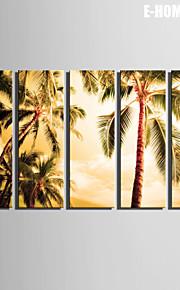 e-Home® venytetty kankaalle art puu koriste maalaus sarja 5