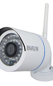 IP Camera - HOSAFE - All'aperto - Proiettile -Impermeabile/Giorno Notte/Sensore di movimento/Dual Stream/Accesso Remoto/Filtro