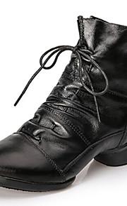 Женская обувь - Кожа - Номера Настраиваемый ( Черный/Желтый/Красный ) - Современный танец