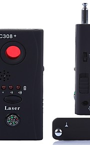 cc308 + multi trådløse kamera linse detektor radiobølge-signal opdage hiden kameraets skærm