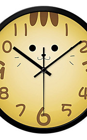 Настенные часы - Металл - Модерн/Деревенский/Повседневный/Офисный - Круглый