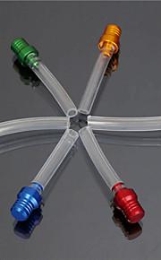 la saleté pit bike bouchon du réservoir d'essence gaz tuyau d'évent de reniflard de valve flexible (couleur aléatoire)
