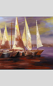 Oil Paintings Modern Sea View, Canvas Material with Stretched Frame Ready To Hang SIZE:60*90CM.