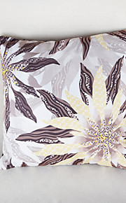 höstlig lönnlöv lila örngott soffa heminredning kuddfodral (17 * 17 tums)