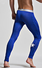 Men's Fashion Leggings Basic Warm Men Leggings
