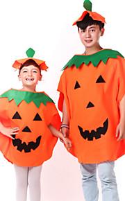 Kids' Dancewear Tops Unisex Performance Polyester Appliques 2 Pieces Orange