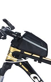 Bike Frame Bag - Vedenkestävä/Kosteuden kestävä/Kestävä/Monitoiminen ( Musta , Nailon , 0.71 L)  Pyöräily