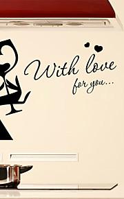 당신이 영어 단어에 대한 사랑 벽 스티커 벽 데칼 스타일&PVC 벽에 스티커를 인용