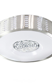 Rural Flake Silver Ceiling Mounted LED Changable Light Source Color White/Warm White/Yellow  Modern Metal