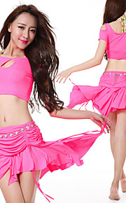 2015 New Hot Design High Quality Belly Dance Costumes Dancing Wears Suits Belly Dance Hip Scarf WY9601 3pcs/SET