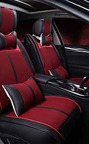 Car Upholstery Leather Cushion Pad 3D Stereo Air Hole Four Universal Seat Cover Rear 125-133-140 Cm