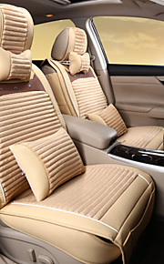 Car Upholstery Leather Plush Winter Warm Wool Pad Seat Cover Rear Universal 125-133-140 Cm