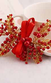 Parel/Bergkristal/Licht Metaal Vrouwen Helm Bruiloft/Speciale gelegenheden Hair Clip Bruiloft/Speciale gelegenheden 1 Stuk
