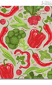 e-home® magnetisk print utskiftbar kunst alle typer grønnsaker dekormaling multi stil valg