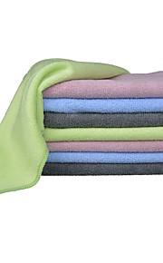 sinland wasstraat microfiber handdoek auto detaillering poetsdoeken 320gsm pak van 8 4 kleuren