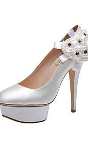 Chaussures de mariage - Blanc - Mariage / Habillé / Soirée & Evénement - Talons / A Plateau / Bout Fermé - Talons - Homme