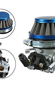 carb carburateur + filtre à air pour 2 temps poche motorisé vélo mini-moteur