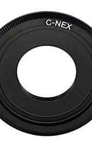 zwarte c mount lens Sony NEX-5 NEX-3 NEX5 nex-c3 NEX-VG10 adapter c-nex