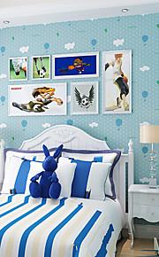 contemporaine papier peint art déco 3d mur peint caricature couvrant l'art non-tissé mur de tissu