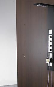 Robinet de douche - Contemporain - Cascade / Douche pluie / Jet de côté / Douchette inclue - Acier inoxydable ( Peintures )