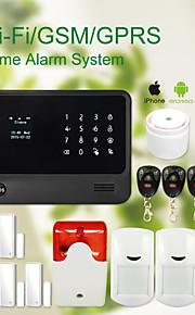 draadloze wifi + gsm thuis dief beveiligingssysteem alarm gs-g90b