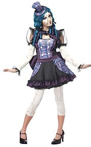 Burlesque kostymer - Halloween/Karneval - Kostume - Kjole/Bukser/Ermer/Hodeplagg - til Kvinnelig