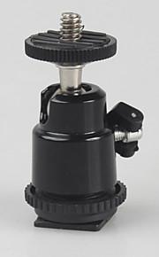 1/4 skrue hot shoe adapter kamera tilbehør