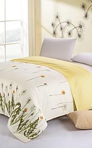 keltainen kukka puuvilla vuodevaatteet sarja 4kpl neljä vuodenaikaa käyttö